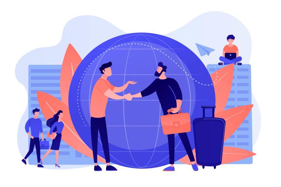 Gérer le travail à l'étranger de vos collaborateurs