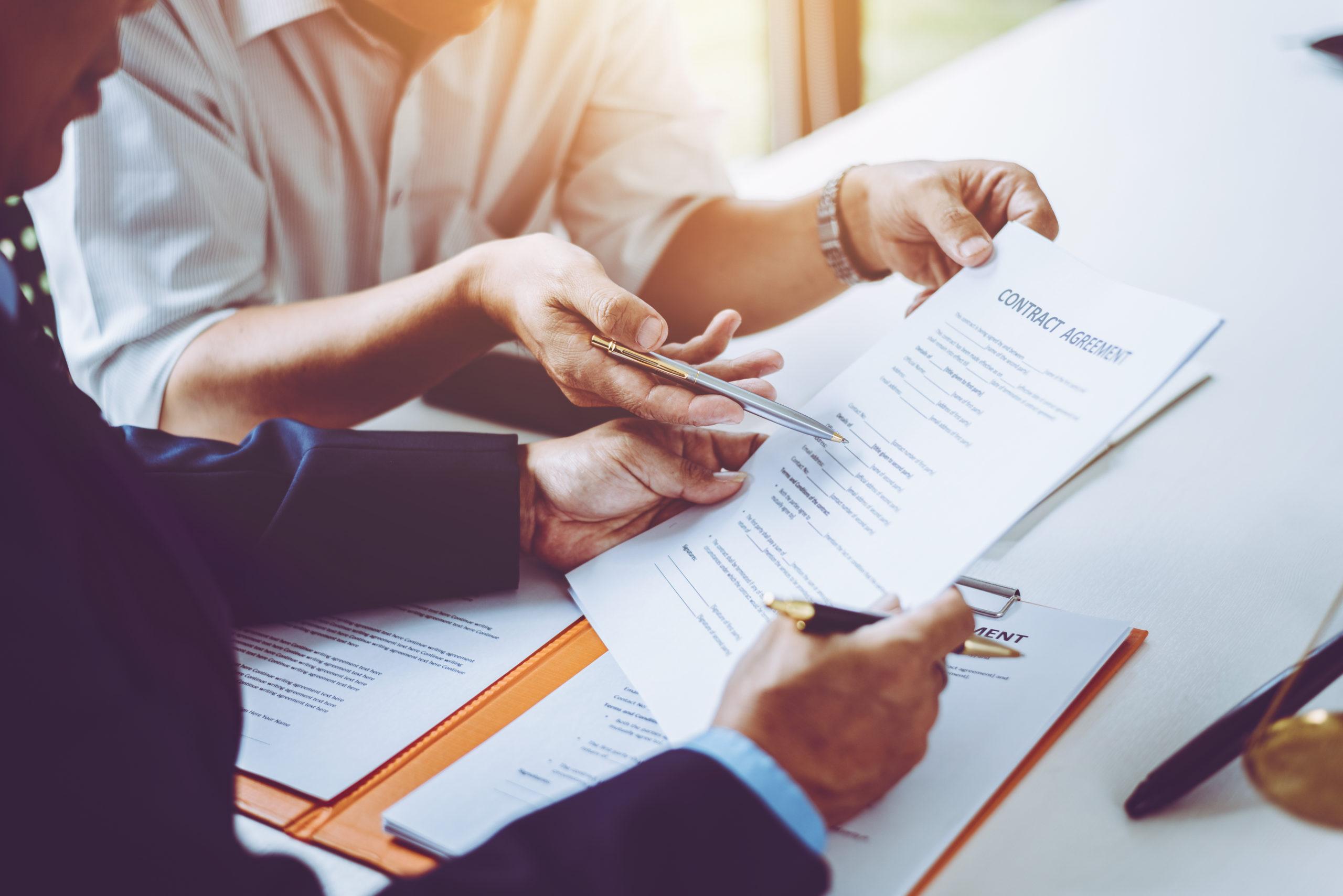 Plusieurs types de contrats de travail