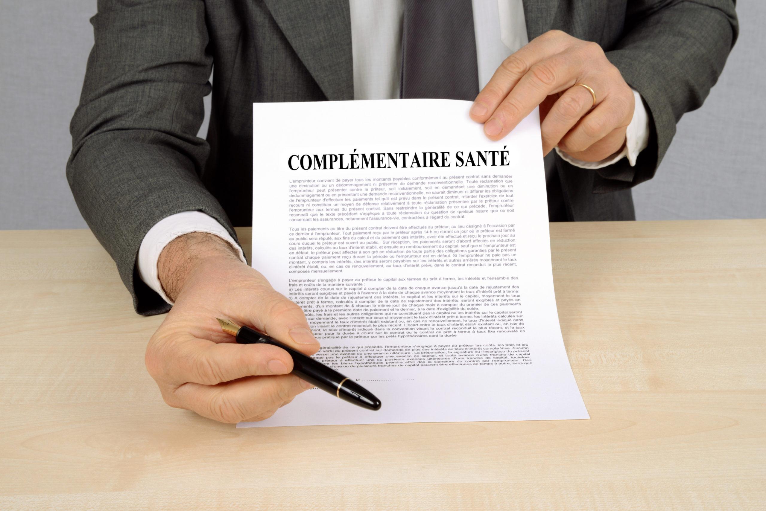 Document complémentaire santé