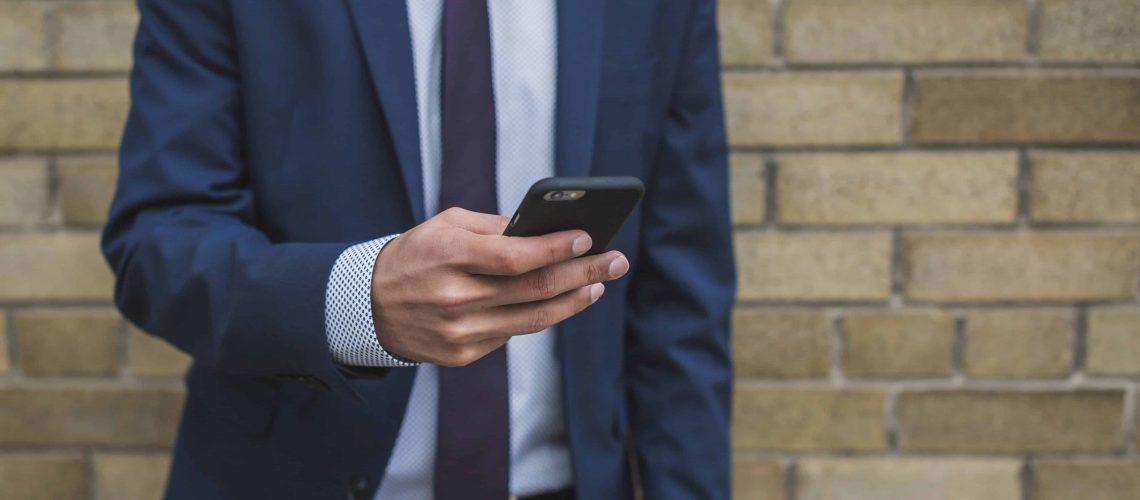 businessman-on-smartphone